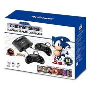 At Games Consola de juego clasico Genesis con 81 juegos- Edición Estándar Standard Edition