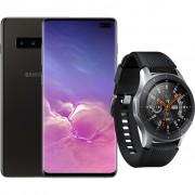 Samsung Galaxy S10 Plus 1TB Keramisch Zwart + Samsung Galaxy Watch Zilver