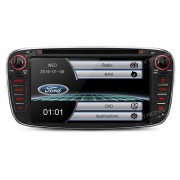 "Radio DVD 7"" GPS Especifico para Ford Focus Mondeo Kuga USB SD Bluetooth"