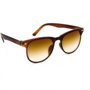 TheWhoop UV Protected Brown Wayfarer Unisex Sunglasses Stylish Wayfarers Goggles For Men Women Girls Boys