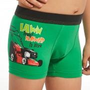 Lawn Mower fiú boxeralsó zöld 110116