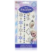 Disney Frozen Princess Elsa Metallic Jewelry Tattoo Kit