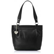 Butterflies Women's Handbag (Black) (BNS 0379)