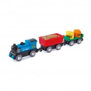 Hape Battery Powered Rolling Stock Set E3720