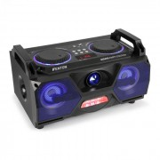 "MDJ115 Leitor Multimédia USB SD BT AUX 120W Amp 5,5"" Woofer LED RGB"