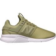 New Balance Women's 247v2 Sneaker, covert green/thistle, 9 B US