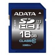 Memoria SDHC 16GB Adata CLASS10 ASDH16GUICL10-R