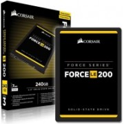Corsair Force LE 200 240 GB Laptop, Desktop, All in One PC's Internal Solid State Drive (CSSD-F240GBLE200C)
