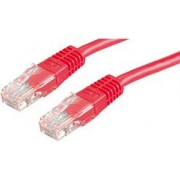Kabel mrežni Roline UTP Cat 5, 2.0m, (24AWG) High Quality, crveni