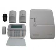 Kit centrala efractie wireless, DSC KIT ALEXOR GSM+IP
