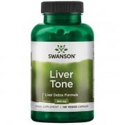 Swanson Liver Tone Detox Formula 300 mg 120 kapslí