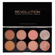 Makeup Revolution Paletă Farduri de obraz (Ultra Blush and Contour) Hot Spice
