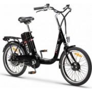 Bicicleta electrica 250W acumulator 36V 9Ah Li-Ion Z-Tech ZT 07 A negru