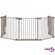 Safety 1st sigurnosna ograda Modular 5 s 5 ploča 82-358 cm siva 24966580