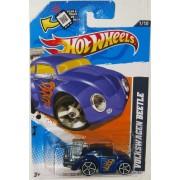 VW BEETLE in Blue Hot Wheels 2012 Heat Fleet Series 1:64 Scale Collectible Die Cast Car #005