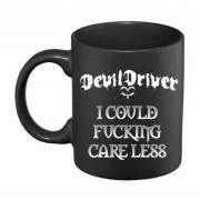 Mug Devildriver - Care Less - Noir Mat - RTDDMUBCAR