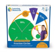 Learning Resources Doublesided Magnetic Fraction Circles