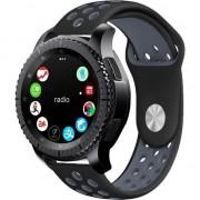 Curea silicon Tech-Protect Softband Samsung Galaxy Watch (46mm) Black/Grey