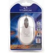 Mouse Esperanza TM102W Titanum Optic 1000DPI Alb