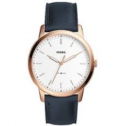 Fossil Analog White Dial Mens Watch-FS5371