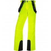 KILPI Dámské lyžařské kalhoty - větší velikosti ELARE-W JLX011KIYEL Žlutá 52