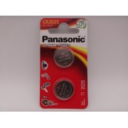 Panasonic CR2025 baterie litiu 3V blister 2