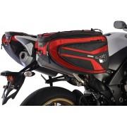 Oxford P50R Alforja de moto Rojo 41-50l