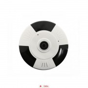 Camera IP Wireless cu filmare 360° SMV360 + Card MicroSD 32GB