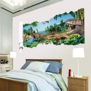 3D Samolepka na stenu animovaný film Dinosaury