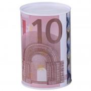 Geen Geld spaarpot 10 euro biljet 8 x 11 cm