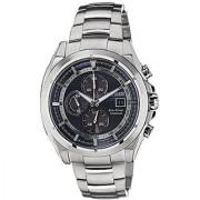 Citizen Silver Metal Round Dial Quartz Watch For Men (CA0551-50L)