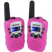 Retevis RT-388 Kids Walkie Talkie UHF 462.5625-467.7250MHz VOX Portable 22 Channel FRS/GMRS Two Way