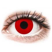 ColourVUE Crazy Lens Red Devil - napi lencsék dioptria nélkül (2 db lencse)