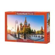 Puzzle Catedrala Sfantului Vasile din Moscova, 500 piese