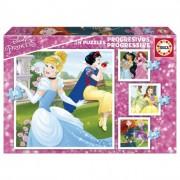 Educa Disney hercegnők 4 az 1-ben puzzle