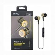 MTK 802153 Auriculares con Bluetooth Negro