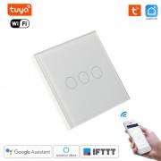 Inteligentný WiFi Dotykový vypínač -Tuya Smart Life 3 Chanel