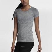 Женская беговая футболка с коротким рукавом Nike Dri-FIT Knit