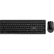 Kit wireless tastatura + mouse Genius SlimStar 8006, Negru