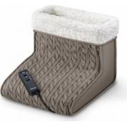 Incalzitor pentru picioare cu masaj Beurer FWM45 16W 2 nivele de temperatura 2 trepte de masaj Maro