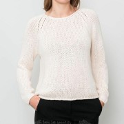 SELECTED Olga Longsleeve Knitted Pullover Birch