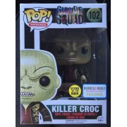 Funko Pop! Heroes #102 Killer Croc Glow Exclusive
