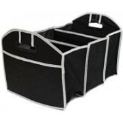 Oxfo Car Trunk Coat Boot Luggage Carrier Organizer Car Trunk Organizer(Black)