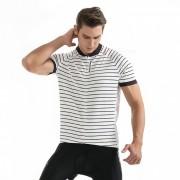 WOSAWE BC243 Unisex camiseta de manga corta de manga corta - Blanco (L)