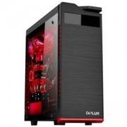 Компютърна кутия Delux DW701, DW701/WO_PSU/BLACK