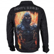 Männer Jacke Disturbed - In destruct - Denim - BRAVADO - 20442037