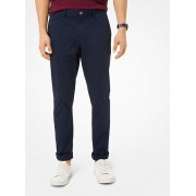 Slim-Fit Washed Poplin Chinos