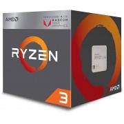AMD CPU RYZEN 3 AM4 2200G 3.5GHz - 3.7GHz QUAD CORE 4MB CACHE 64 BITS 65WAT GPU Radeon RX Vega 8 BOX