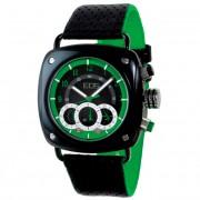 EOS New York Gauge Watch Black/Green 173SGRN
