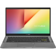 "ASUS VivoBook S14 S433FA-EB081T Notebook Zwart, Grijs 35,6 cm (14"") 1920 x 1080 Pixels Intel® 10de generatie Core™ i7 8 GB DDR4-SDRAM 512 GB SSD Wi-Fi 6 (802.11ax) Windows 10 Home"